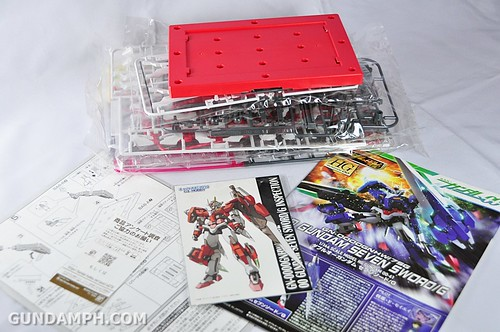 HG 00 Gundam Seven SwordG Inspection Color (C3xHobby Exclusive 2010) Unboxing Photos (17)