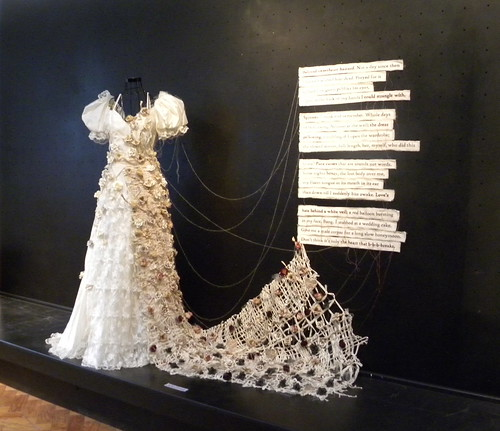 Dress with poem