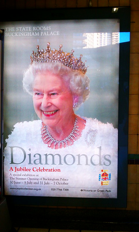 The Queen doesn't play. She lets you know...DIAMONDS.