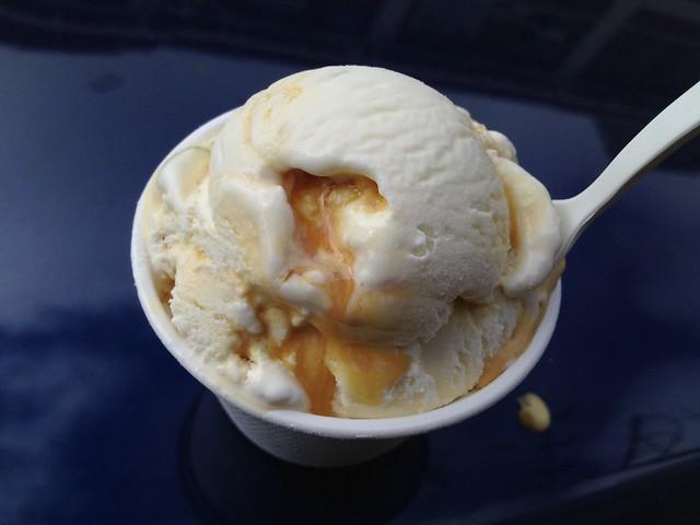 Crema Catalana ice cream - Mr. and Mrs. Miscellaneous
