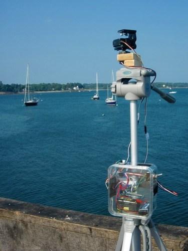 DIY motorized panorama head