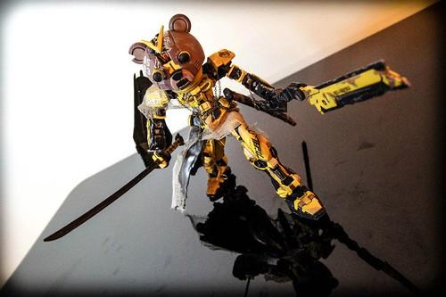 Afro Samurai Inspired Jin-N0#2 Custom by AAG (11)