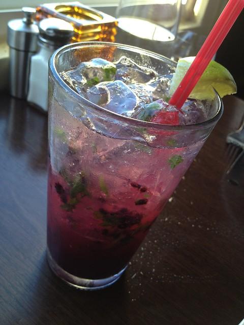 Black and blue mojito - Eureka Restaurant and Lounge