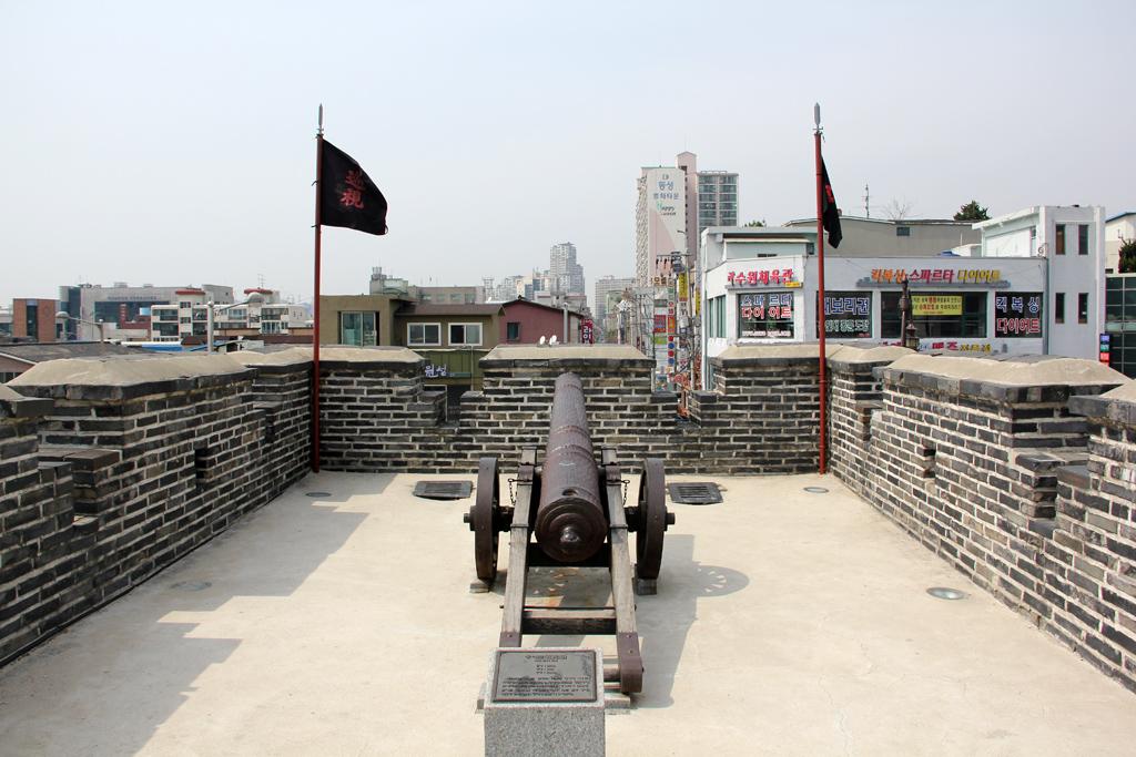 Canon at Hwaseong Fortress