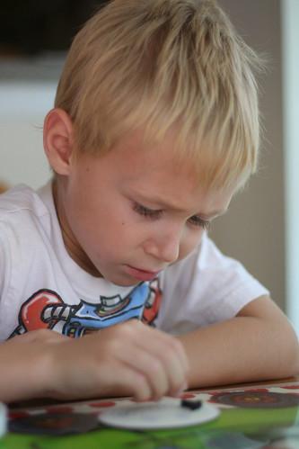 Kiddo crafting: Perler beads edition