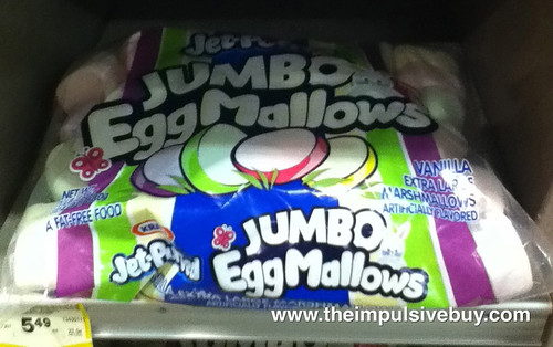 Jet-Puffed JUMBO EggMallows on shelf