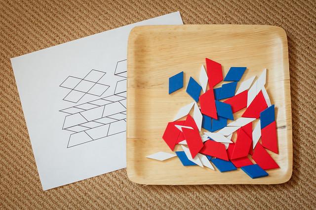 Older kids pattern blocks.