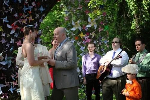 Singing vows