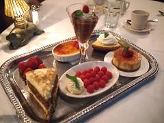 Dessert menu. Morton's Steakhouse