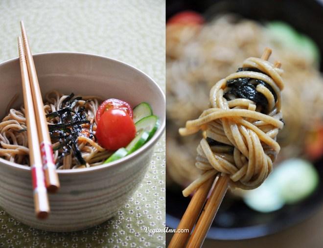 Basic Soba noodle wrapped