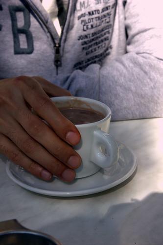 chocolat chaud de grand-mère.