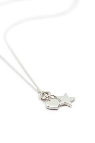 Necklace Heart Star