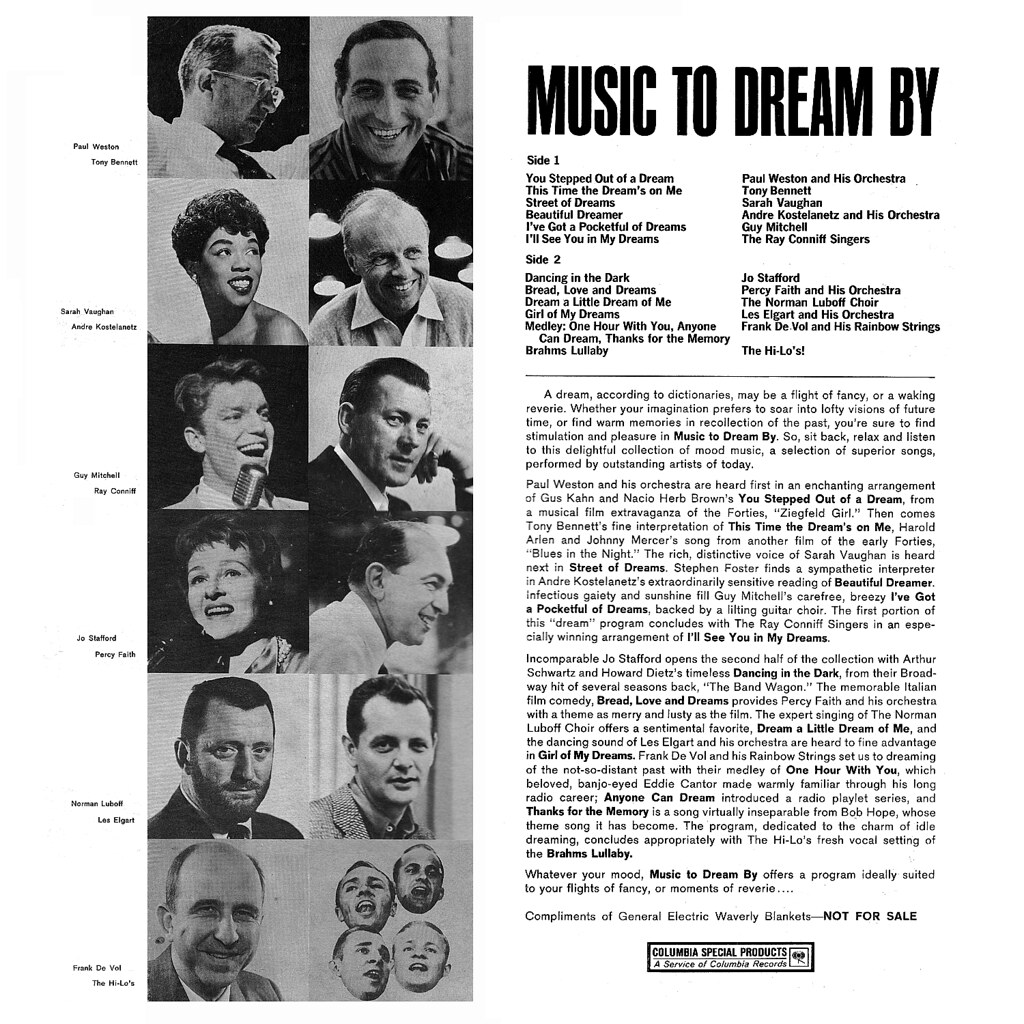 Various Artists - Music to Dream By