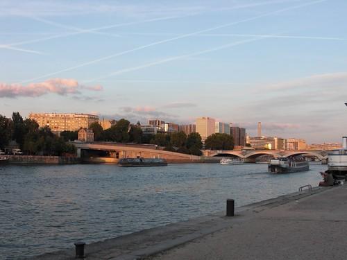 Slow Sunset on the Seine