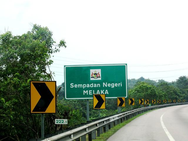 Malacca border