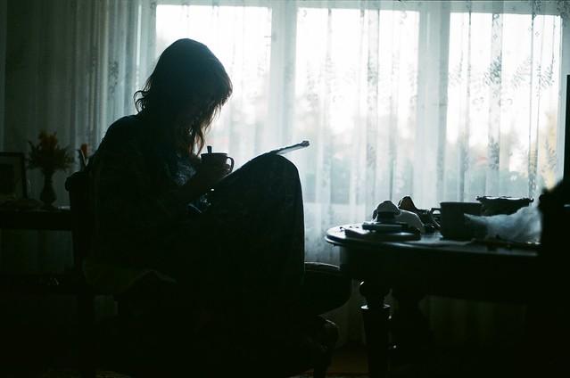 studying.