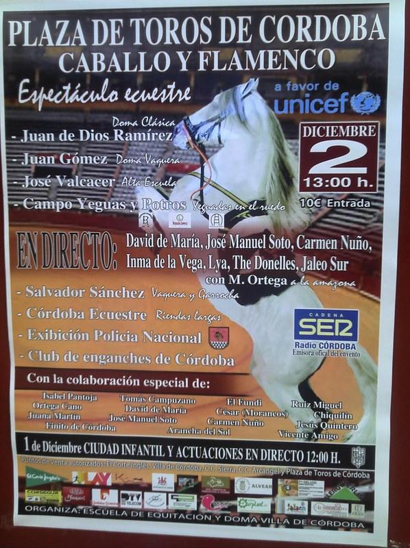 Espectaculo Toros y Caballos UNICEF