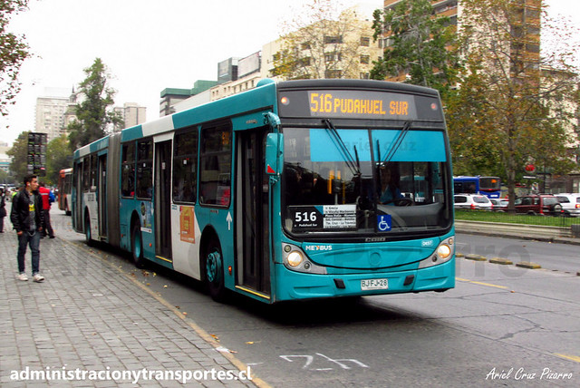 Transantiago - 516 | Metbus | Caio Mondego HA - Mercedes Benz (BJFJ28)
