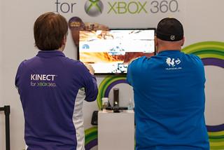 Xbox Kinect Pod Racing