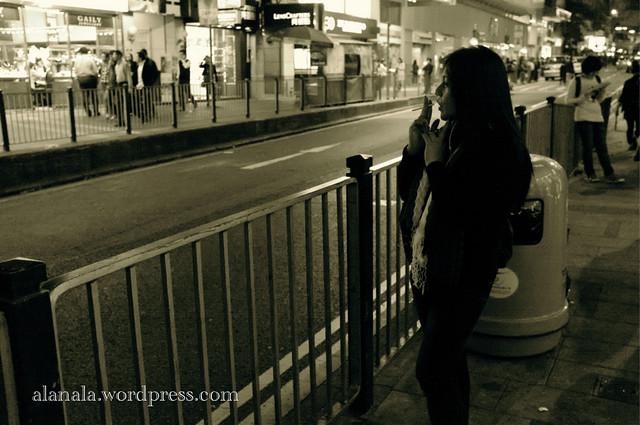 Cigarette Lady