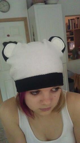 Skye's Panda Hat