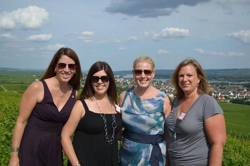 me, Jen, Kirsten & Fabiana