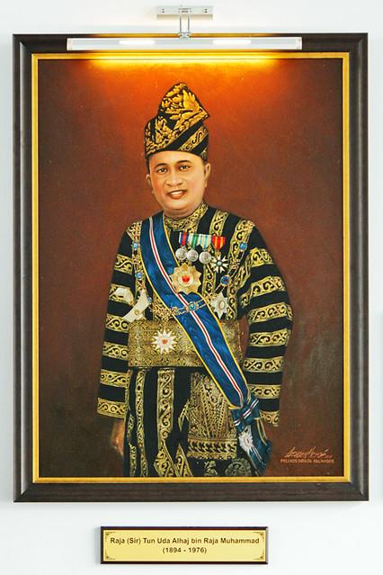 Raja (sir) Tun Uda Alhaj b Raja Muhammad