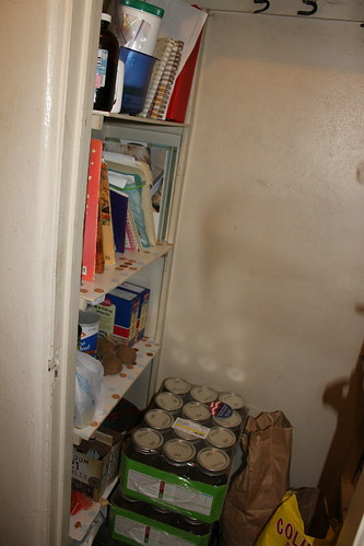 Daja's Pantry Inside--THREE MONTHS