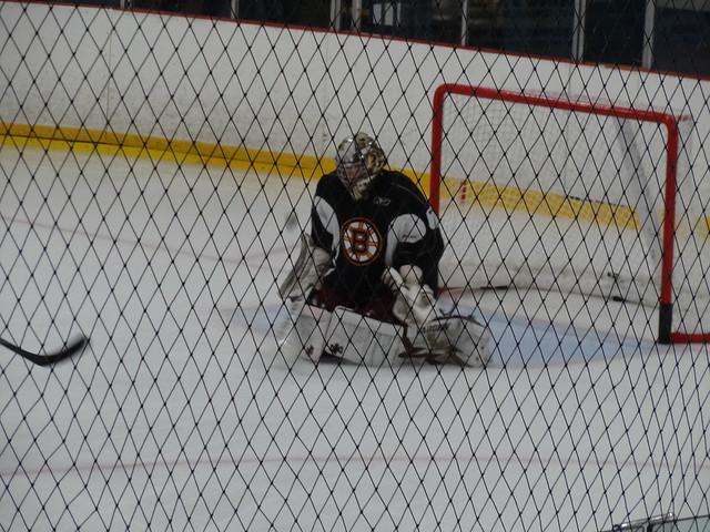 Parker Milner at Bruins Development Camp (Credit: Flickr/ Cerebusfangirl)