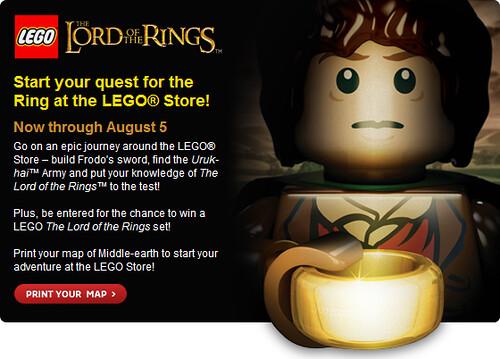 LEGO Store Promo