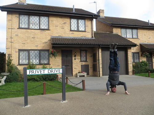 72. harry potter headstand