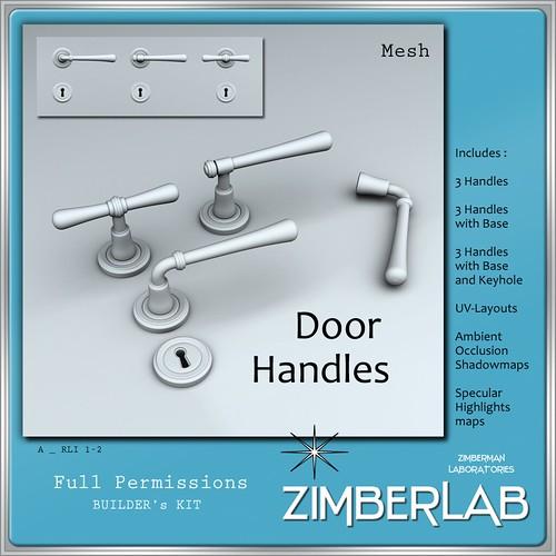 ZimberLab Handles Set A @ The Deck