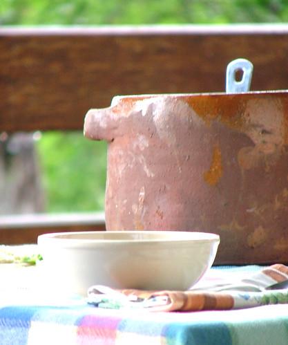 zuppa di cicerchie - Cicerchia soup