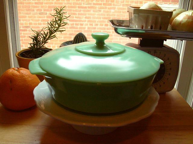 jadeite casserole dish