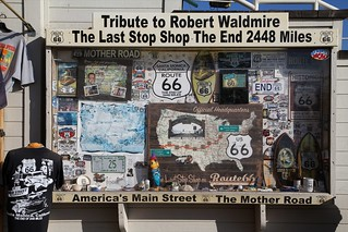 End of Route 66