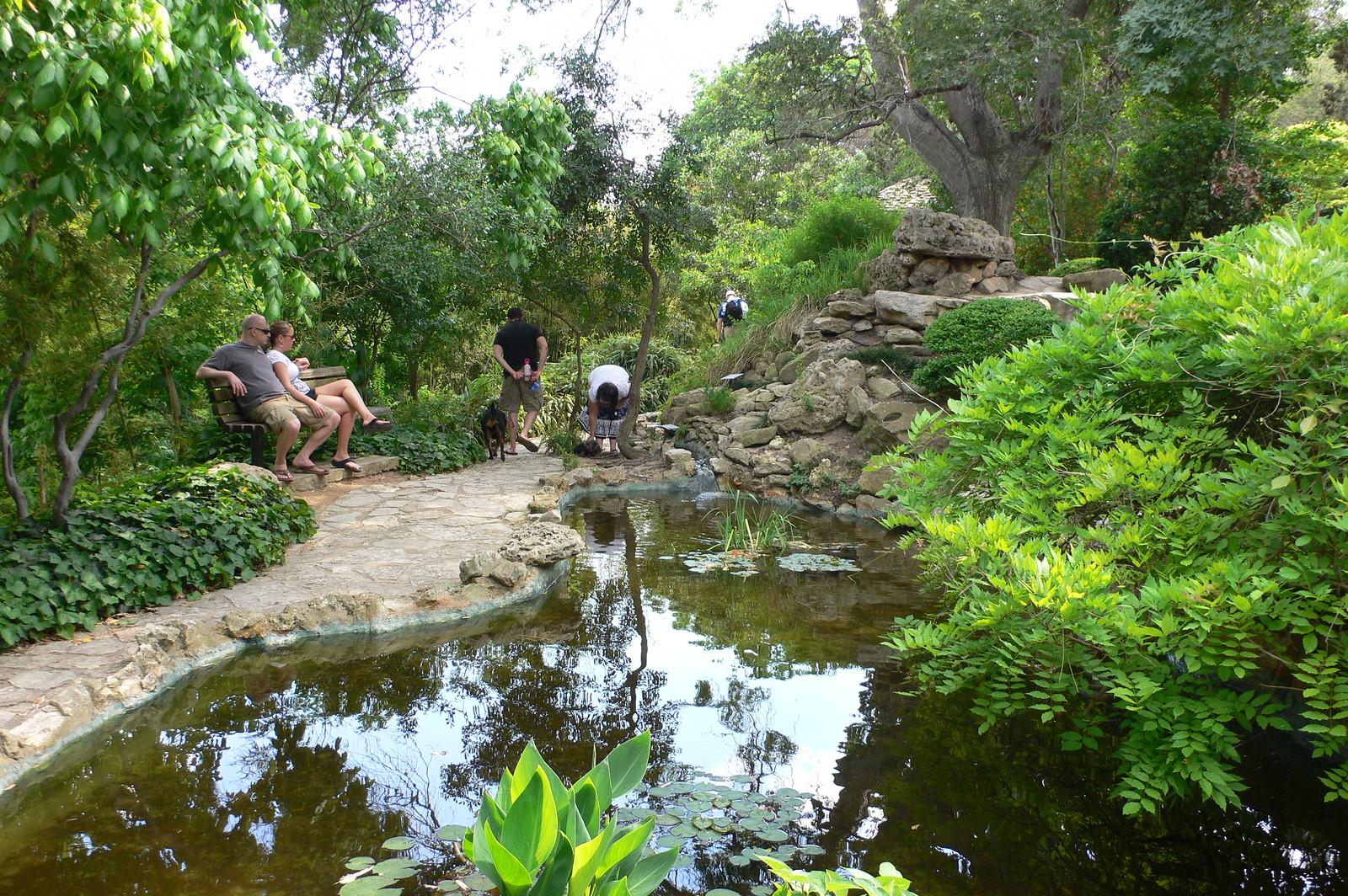Zilker Botanical Gardens in Austin