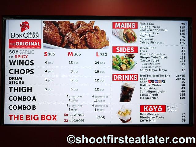 BonChon Manila- menu-001