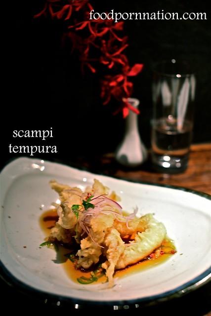 scampi tempura