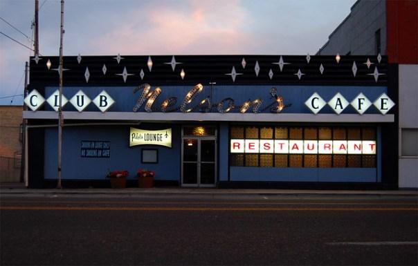 Nelson's Cafe and Pilot Lounge - 125 West Main Street, Burley, Idaho U.S.A. - July 7, 2012