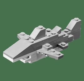 LEGO Monthly Mini Model Build – 2012-08 (August)