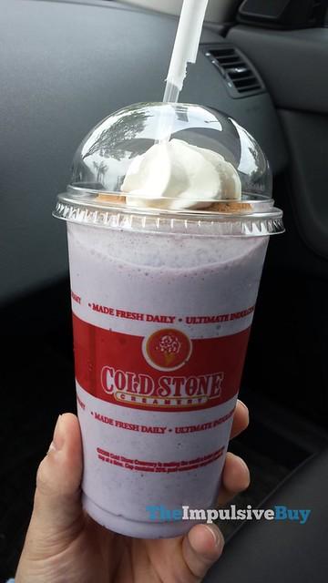 Cold Stone Creamery Blueberry Donut Shake