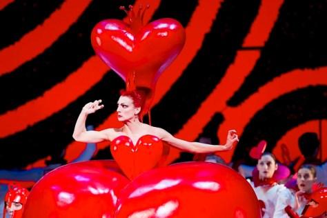 Zenaida Yanowsky as the Red Queen in Alice's Adventures in Wonderland © Johan Persson/ROH 2011