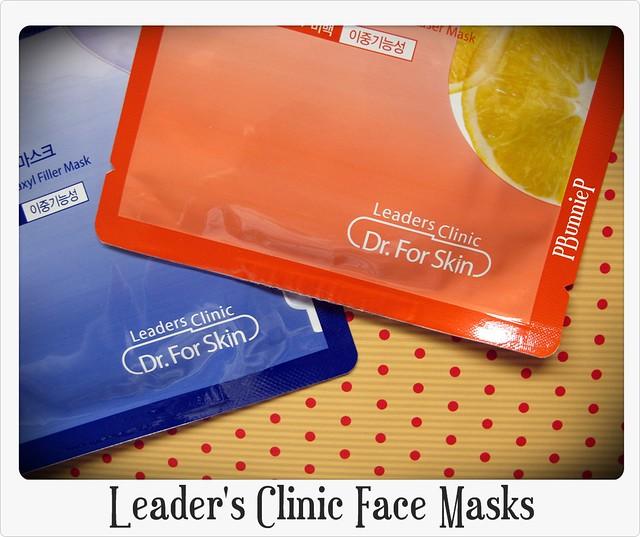Leader's Clinic Face Masks