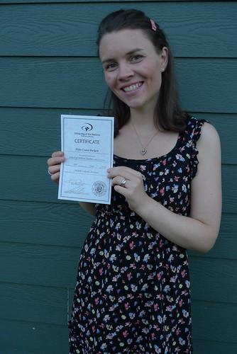 Helen Graduated SBS!