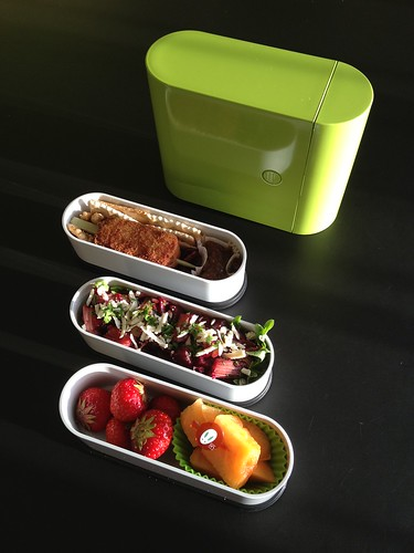 Meatless Monday Bento, 25-06-2012