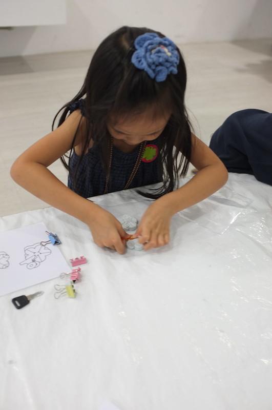 making plaster magnet
