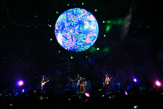 Coldplay at Tampa Bay Times Forum June 28th, 2012