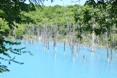 blue pond-1