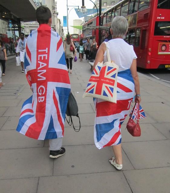 Olympic flag fashion