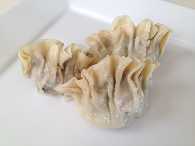 Shark fin dumplings - Good Luck Dim Sum